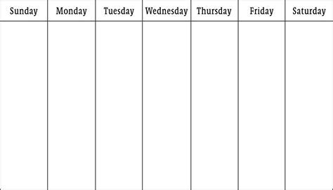 5 Day Calendar Template 5 Day Calendar Template Pictures To Pin On