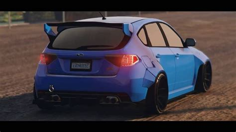 subaru liberty walk subaru wrx sti liberty walk quot gta5 quot youtube