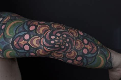 sk ink lovers kaleidoscope tattoo