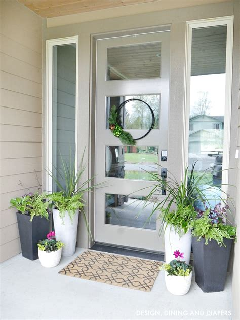Ideas For Front Porch Planters front porch planter ideas porch planters and front porches