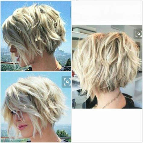 angled and feathered back hair dos short layered bob hairstyles 2017 when com image