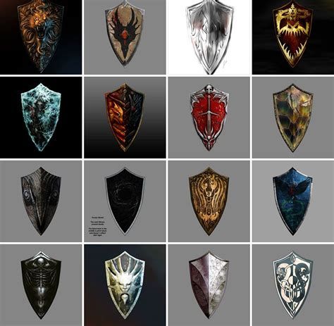 shield design contest held by from software 黑暗之魂2 盾牌设计评选 霸气巨盾一决高下 www 3dmgame com