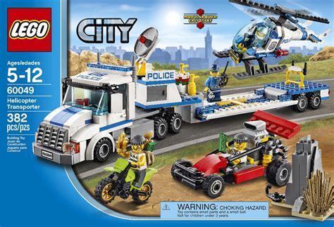 lego 60049 helicopter transporter i brick city