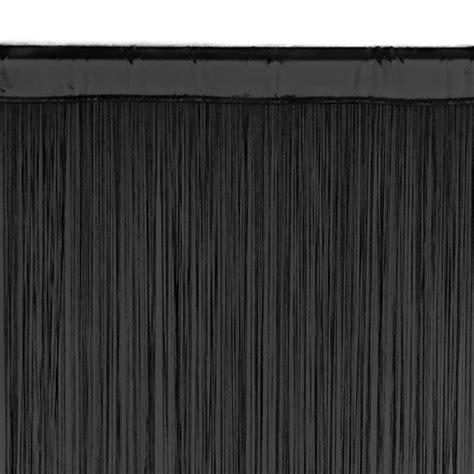 black fringe curtain string curtain panel black fringe curtain event d 233 cor
