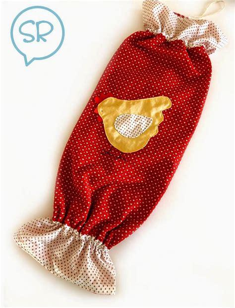 porta sacchetti stoffa portasacchetti in stoffa tutorial