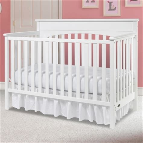 White Graco Convertible Crib Graco 4 In 1 Convertible Crib In White Free Shipping