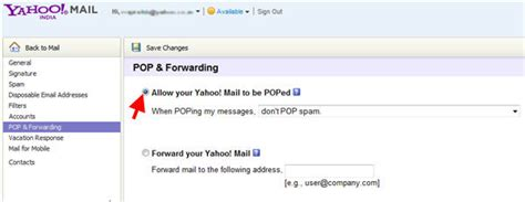 yahoo email time zone yahoo pop3 and smtp settings techblissonline com