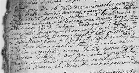 Sicilian Birth Records Antonino Butera