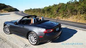 Fiat Spider Review 2017 Fiat 124 Spider Review Italy Gives Miata An Attitude
