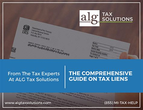 Federal Tax Liens Records Irs Tax Lien Assistance Alg Tax Solutions