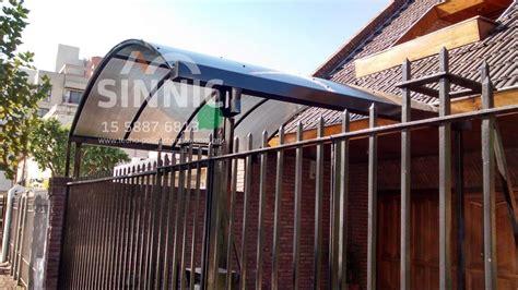 cobertizo metalico para coches techo de policarbonato para cochera whatsapp1558876813