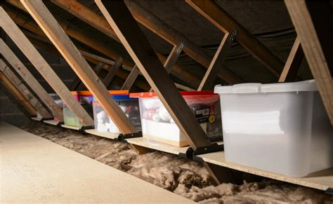 Garage Roof Storage Ideas Uk 9 Tricks To Turn An Unfinished Attic Into A Practical