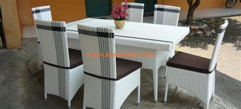 Meja Makan Rotan Sintetis 4 Kursi about furniture rotan the knownledge