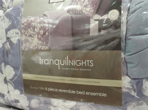 costco bed sheets costco bedding amazing tranquil nights reversible bed ensemble decorating inspiration