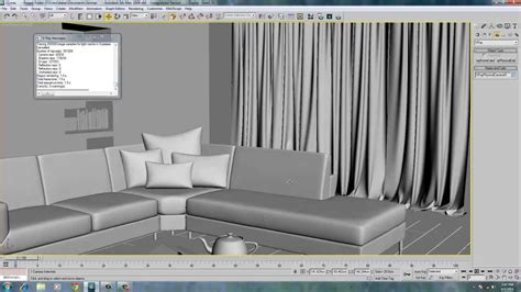 material for making curtains curtain material in max vray youtube