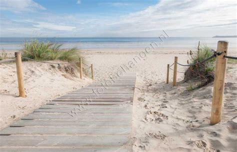 strand thema wohnzimmer vlies fotobehang wandeling op het strand strand en zee