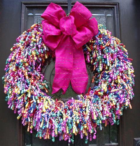 Door Reef by Door Wreaths Birthday Wreath Birthday Door Decor
