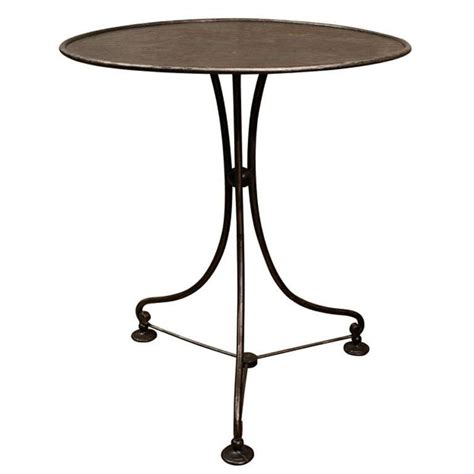 Adjustable Bistro Table Adjustable Top Metal Bistro Table At 1stdibs