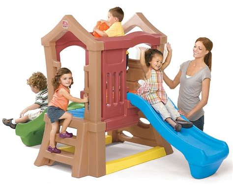 step 2 play structure with slide indoor slides for playrooms