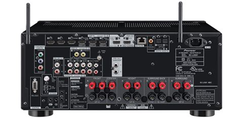 pioneer sclx  ch class  network av receiver