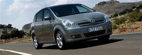 Automatik Auto Gebraucht by Toyota Corolla Verso Automatik Jetzt Bei Autoscout24 Kaufen