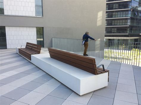escofet bench longo exterior benches from escofet 1886 architonic