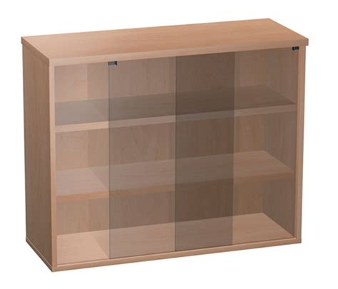 Glass Fronted Bookcase / Trophy cabinet   non locking