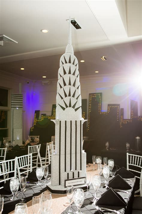 new quinceanera themes new york city themed sweet 16 centerpiece chrysler