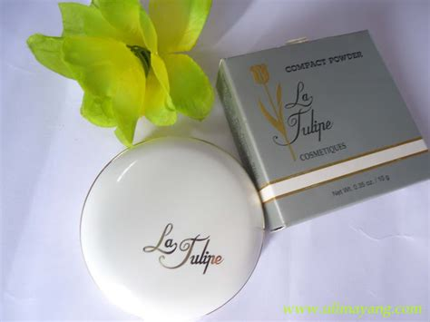Supijati Powder 01 Warna Kemerahan uli mayang review la tulipe compact powder 01 bedak