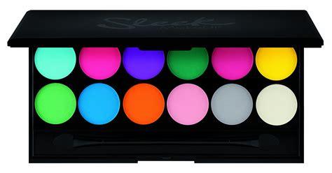 8 Colourful Makeup Palettes by Sleek I Acid Palette Mineral Based Eye