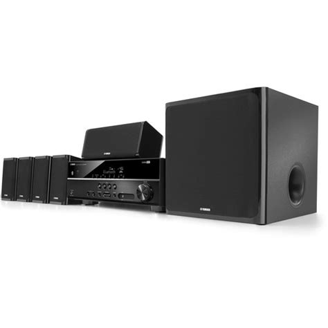yamaha yht 4920ubl 5 1 channel home theater in a box yht