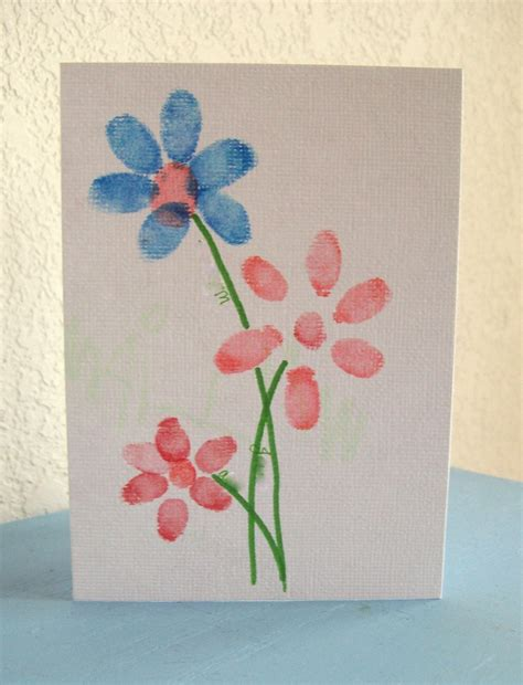 card craft preschool crafts for s day fingerprint