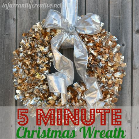 christmas wreath ideas easy crafts and homemade simple christmas wreath infarrantly creative