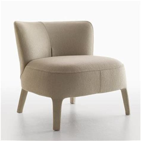 Contemporary Armchairs Maxalto Febo Armchair Low Back Style 2800n Modern
