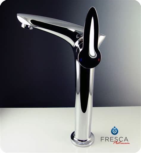 Fresca Faucets Reviews by Fresca Platinum Fft3202ch Rienza Single Vessel Mount