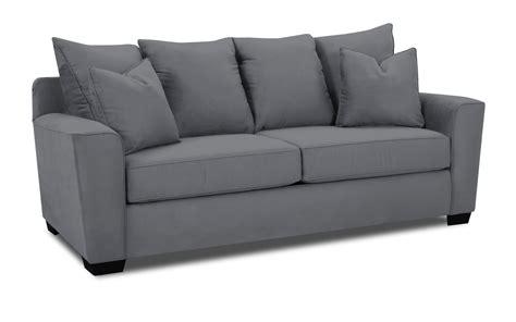 microsuede sofa set klaussner sofa set microsuede charcoal kl e56044