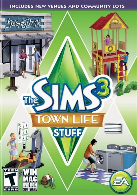 the sims 3 town life stuff pack free game download free fsg the sims 3 town life stuff mediafire full free download