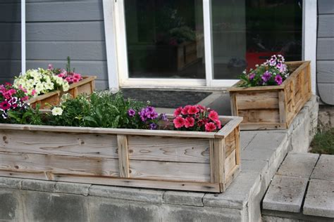 raised flower beds ana white raised flower planter beds diy projects