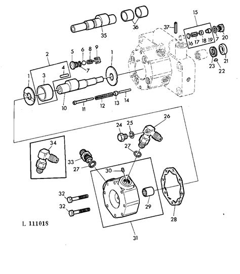 deere 310a hydraulic system diagram tractor