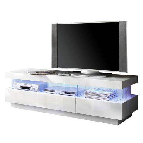 beleuchtung tv tv lowboard hochglanz wei 223 mit led beleuchtung