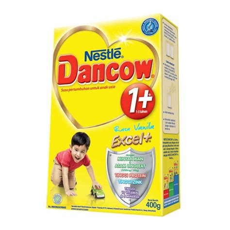 Dancow 3 Tahun Dancow 1 Vanila 400gr