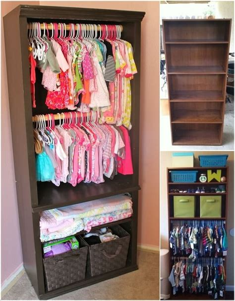 bookcase for baby room re imagine an old bookcase into a baby nursery closet