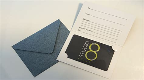 Beauty Salon Gift Cards - gift vouchers portsmouth beauty salon studio8beauty