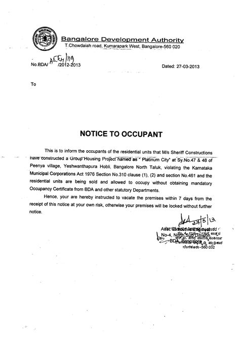 certification letter for occupancy template letter of occupancy template