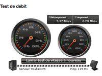 test ping adsl test mire mesures du d 233 bit adsl pour connexion