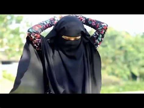 tutorial niqab bandana kohl eyes make up half niqab style doovi