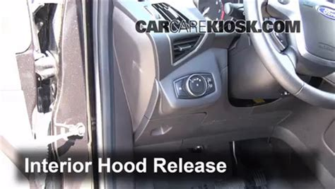 ford escape hood latch   2017, 2018, 2019 ford price
