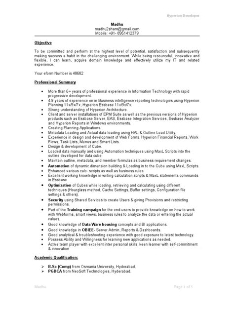 Hyperion Consultant Sle Resume by Hyperion Financial Reporting Resume 28 Images 100 Apps Invoice Template Hyperion A Modern