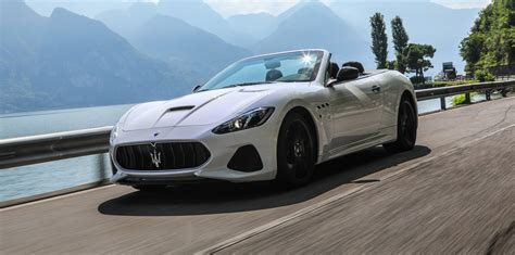 maserati cost 2018 maserati grancabrio pricing and specs