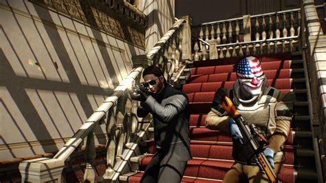 payday 2 figures payday 2 suma a su equipo de atracadores al protagonista